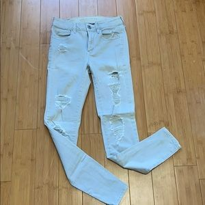 American Eagle Skinny High Rise Jeans
